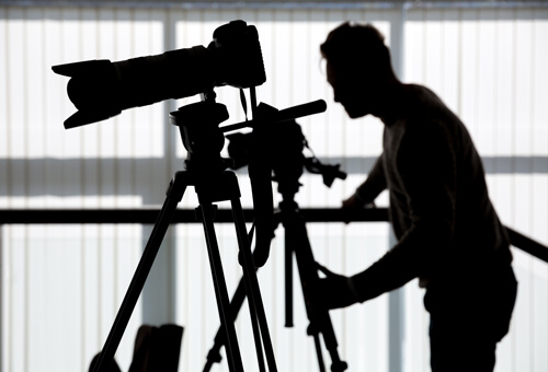 professional video crews by credential