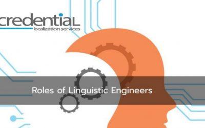 크리덴셜 | 언어 엔지니어 (Linguistic Engineer)의 역할