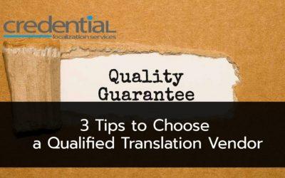크리덴셜 | 예산을 절약하면서도 번역품질을 향상시킬 수 있는 세 가지 팁!