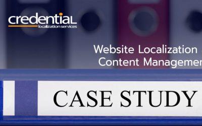 크리덴셜 | 케이스 스터디 – 다국어 웹사이트 개발 / 현지화