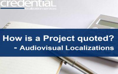 영상번역, 영상편집 프로젝트 견적 원리 | 크리덴셜