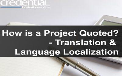 번역 프로젝트 견적 원리 | 크리덴셜