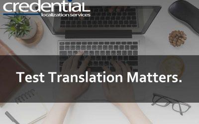 번역업무공정에서 샘플번역이 갖는 중요성